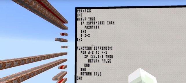Minecraft So Programmiert Ihr Im Spiel Mit BASIC - Minecraft quiz spiel