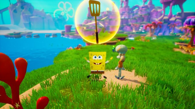schlacht bikini bottom cheat code spongebob
