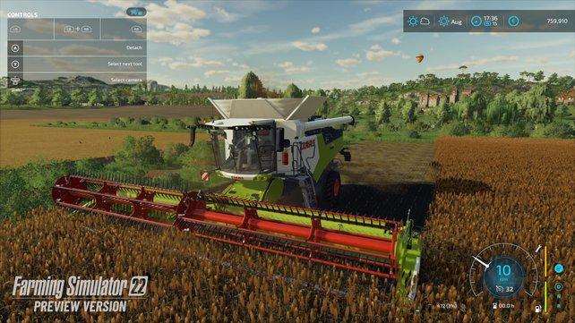 Der kommende Landwirtschafts-Simulator bringt bewährte Spielmechanik und neue Features.