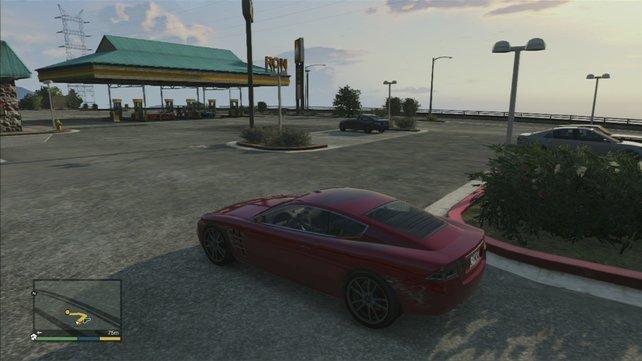 An dieser Tankstelle findet ihr sie.