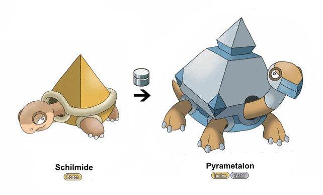 """Dieses Pokémon findet man häufig in Wüsten und trockenen Gebieten. Dazu  kommt, dass es nahezu ohne Wasser auskommt. Zudem scheint es sich mit dem Item """"Stahlmantel"""" zu entwickeln, welches seine Defensive gewaltig zu steigern scheint."""
