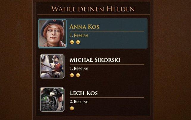 Die Helden von Polania.