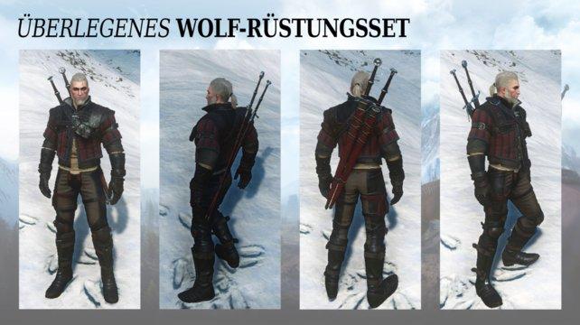 Überlegene Wolfsschulenausrüstung