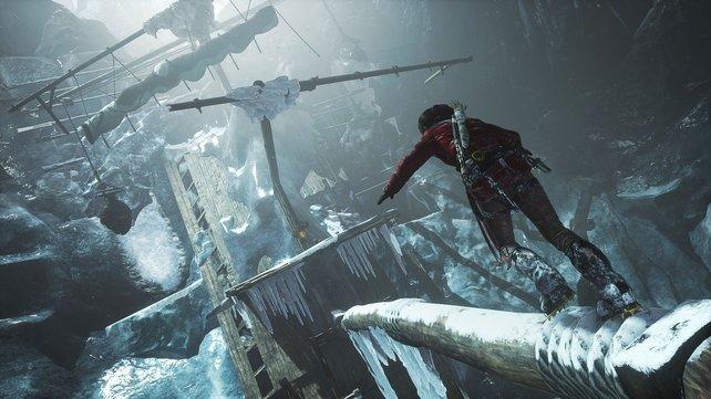 Rise of the Tomb Raider bildet den zweiten Teil des Serien-Reboots.
