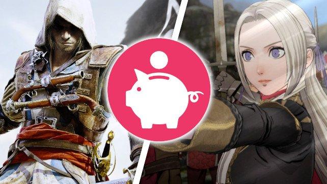 Auf der Nintendo Switch gibt es gerade günstige Piraten-Abenteuer und Fantasy-Schlachten abzustauben. (Bildquelle: Ubisoft, Nintendo, Getty Images / Nik01ay)
