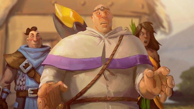 Eine der Stärken des Spiels ist die Darstellung der Handlung.