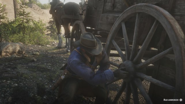 Eagl was ihr in Red Dead Redemption macht, ein einzelner Tastendruck reicht selten aus.