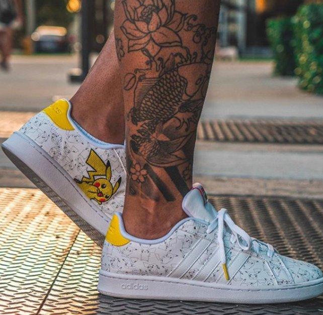 Der Pikachu-Sneaker von Adidas