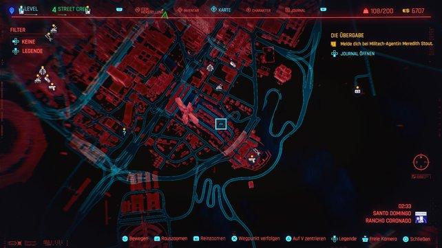 Der zwölfte Cyberpsycho versteckt sich in Santo Domingo.