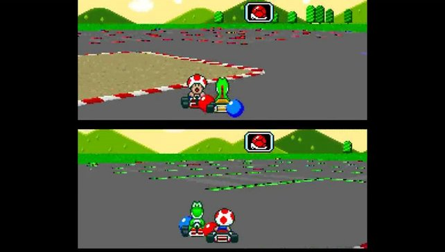 Schon vor 23 Jahren bekriegen sich die Spieler mit grünen und roten Panzern.