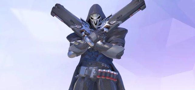 Ein Terrorist mit schwarzer Kutte: Mehr Informationen gibt es über Reaper nicht.