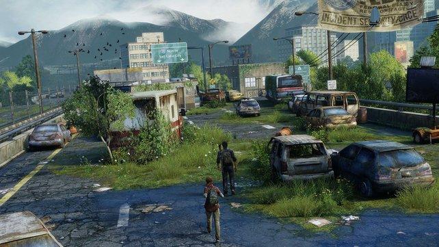 Die Natur holt sich die Welt zurück. Die Schönheit in The Last of Us ist von der sehr morbiden Art.