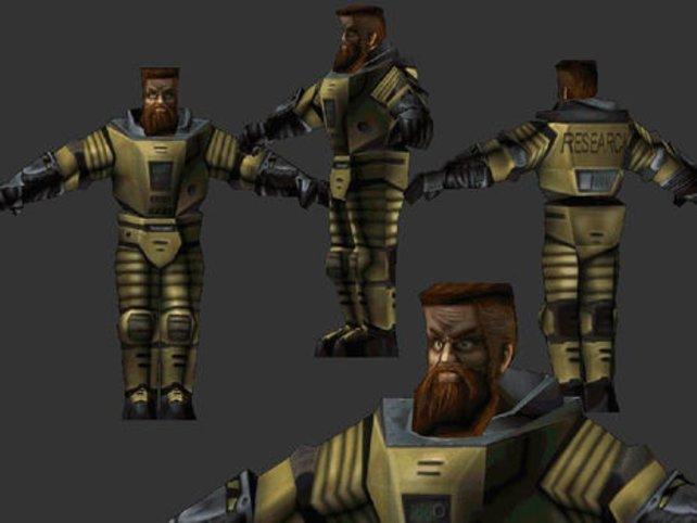 """""""Ivan the Space Biker war anfangs als Charakter für Half-Life geplant."""