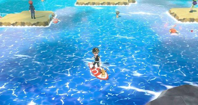 Ohne die Surfer-Fähigkeit werdet ihr das Spiel nicht abschließen können.