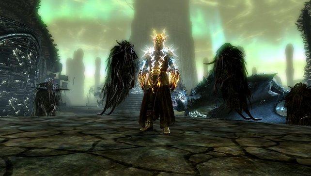 """Im dritten und letzten Skyrim-DLC """"Dragonborn"""" müsst ihr gegen das älteste Drachenblut kämpfen."""