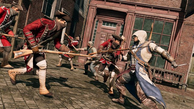 Die Kämpfe sehen cool aus, spielen sich aber sehr leicht. Erst ab zwölf Gegnern wird es kritisch.