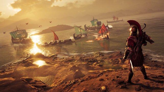 Assassin's Creed - Odyssey hat nicht nur einen optischen Sprung gemacht.