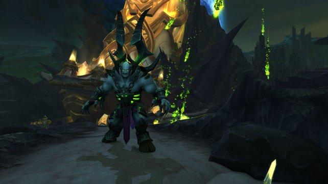 Erledigt unter anderem die Quests auf Argus, um den Nethertiegel freizuschalten.