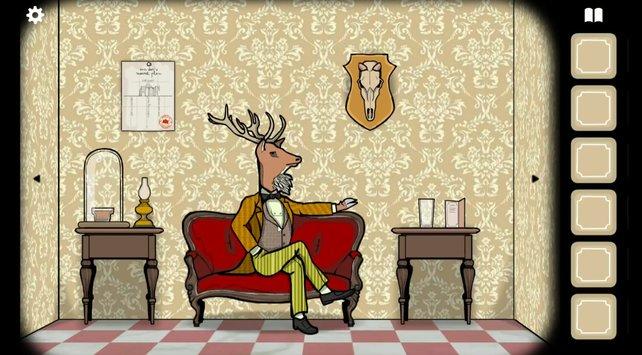 Mr. Deer möchte gerne etwas trinken.