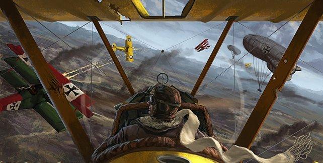 Wings verspricht spannende Luftkämpfe für dem Hintergrund des Ersten Weltkriegs.
