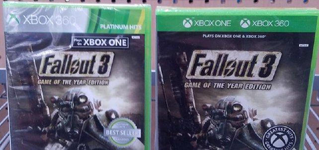 Fallout 3 für Xbox One. Bildquelle: MCVUK.