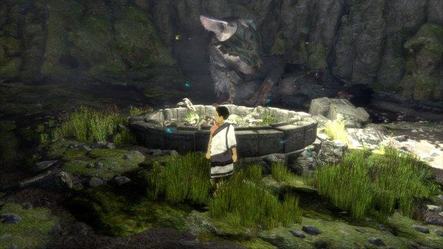 The Last Guardian: Landschaften und Begleiter Trico erscheinen noch schärfer in 4K.