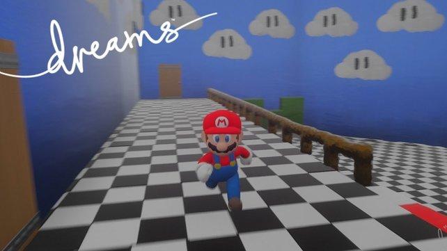 """Es gibt eine große Zahl an """"Super Mario""""-Spielen in Dreams. Nintendo lässt diese jetzt sperren - wegen Urheberrechtsverletzungen."""