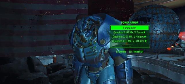 Quantum X-01: Diese Powerrüstung ist eure Belohnung für das Sammeln aller Star-Kerne.