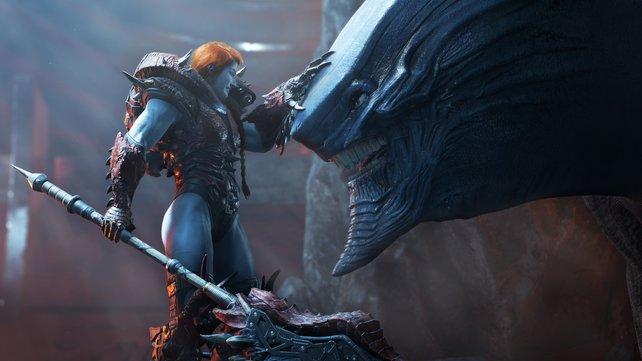 Welche Rolle wohl Lady Hellbender spielen wird? (Bild: Square Enix)