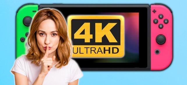 Psst! Gerüchten zufolge soll doch noch eine 4K-Nintendo-Switch kommen. (Bildquelle: Nintendo, Getty Images / Deagreez)