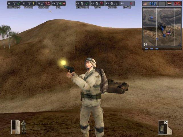 Für Desert Combat benötigt ihr die Vollversion von Battlefield 1942.