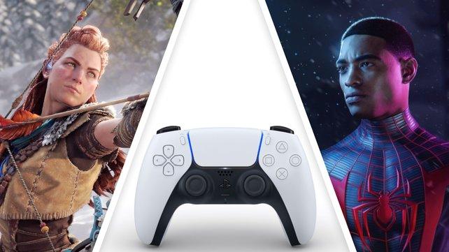 Der DualSense-Controller soll Vorteile für PS5-Spieler bringen.