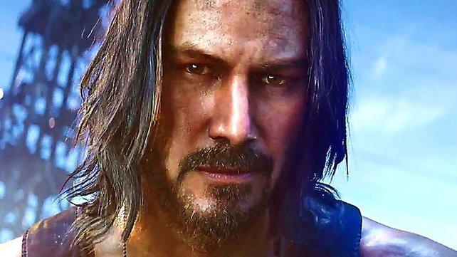 "Auch ""John Wick""-Darsteller Keanu Reeves bekommt in Cyberpunk 2077 eine kleine Rolle."