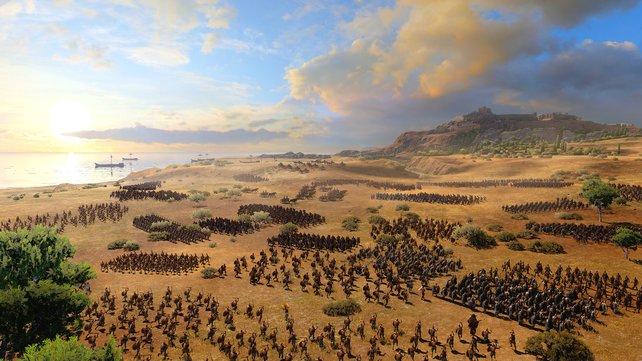 Total War: Troy ist für kurze Zeit kostenlos.
