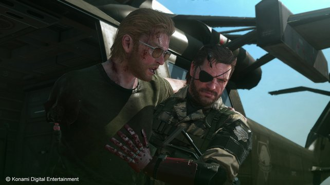 Snake und Kaz Miller sind ein prima Team.