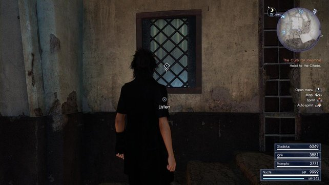Das besagte Fenster!
