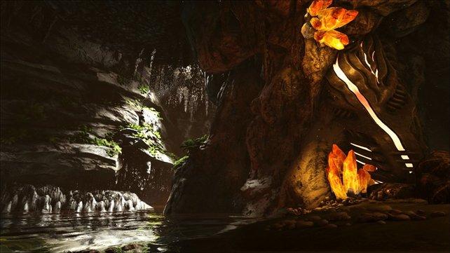 Die Höhle des verlorenen Glaubens liegt überwiegend unter Wasser.