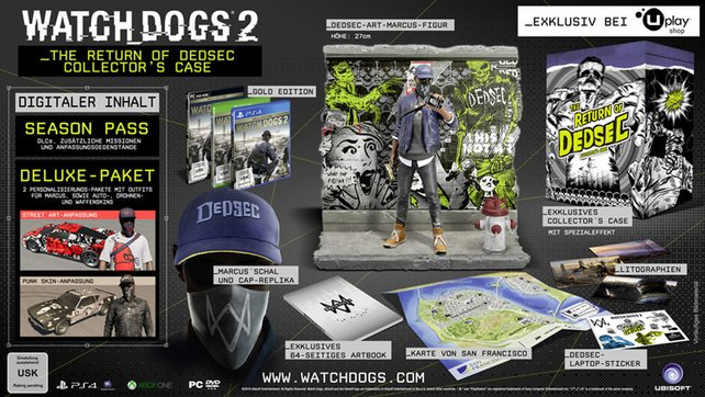 Watch Dogs 2: The Return of Dedsec – Collectors Case