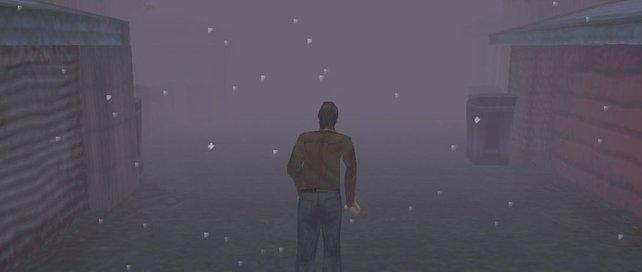 so sah Silent Hill damals auf der PlayStation aus.