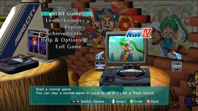 Drei Spiele umfasst die Sammlung für die Xbox 360.