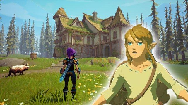 Elements scheint eine vielversprechende Alternative zu Breath of the Wild zu werden. (Bild: Nintendo / Wreckit Games)