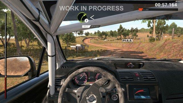 Beim Rallye-Fahren kommt es auf das gekonnte Spiel zwischen Grip und Drift an.