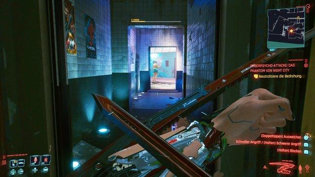 Die Mantisklingen sind eine tödliche Waffe in Cyberpunk 2077.