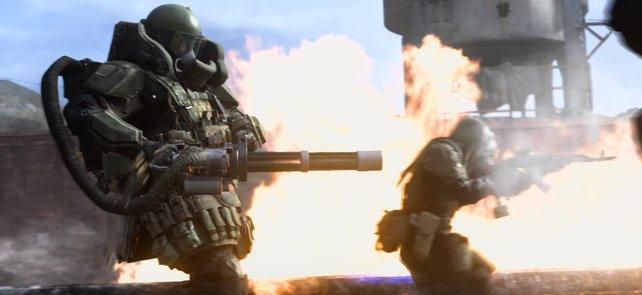 Der Juggernaut ist die ultimative Belohnung im Multiplayer.