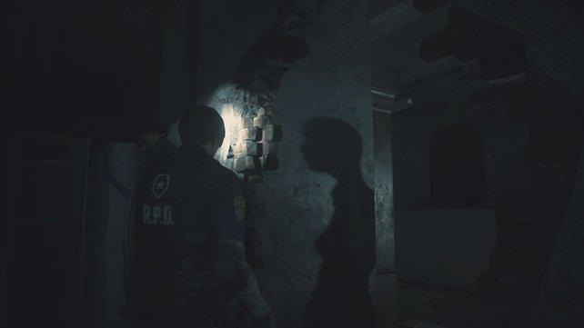Ein Schatten an der Wand: Habt ihr noch große Lust, diesen Raum zu betreten?