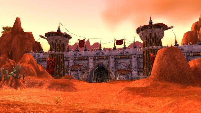 Die Originalgrafik von World of Warcraft ist sicherlich charmant, aber alles andere als realistisch.