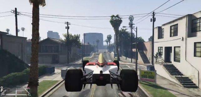 """Auf Reddit werden diese """"GTA Online""""-Clips gerade gefeiert."""
