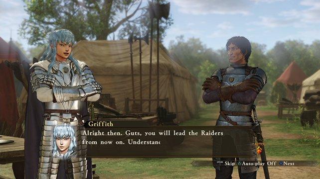 Zusätzliche Dialoge werden in Form der Spielgrafik dargestellt.