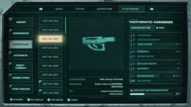 Der Tachyomatic-Karabiner ist ein Allrounder.