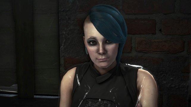Deus Ex - Mankind Divided - Wollt ihr alle Nebenmissionen absolvieren, werdet ihr unter anderem dieser jungen Dame helfen müssen.